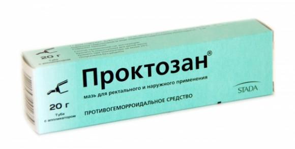 Лечение геморроя препаратом Проктозан