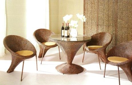 Мебель из природных материалов в нашем доме