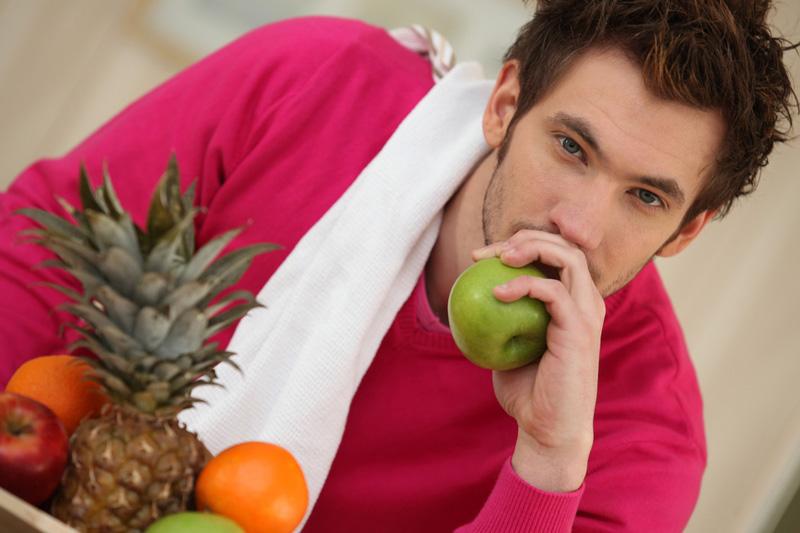 Что бы иметь крепкое мужское здоровье нужно быть разборчивыми в еде и в привычках