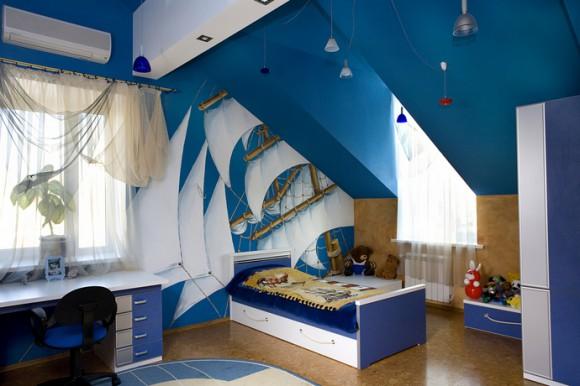 Морской стиль в дизайне интерьера