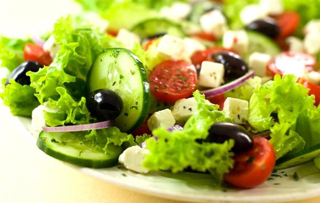 Греческий салат для мужской силы