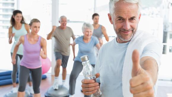Спорт спасает мужскую силу пожилых