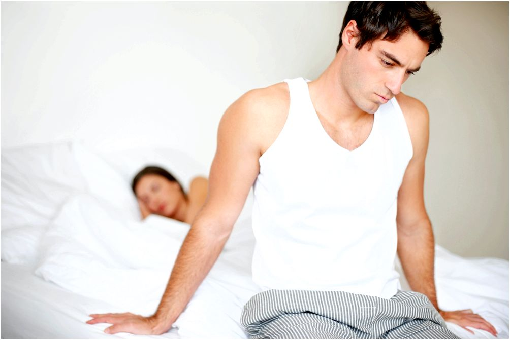 При эректильной дисфункции у взрослых мужчин