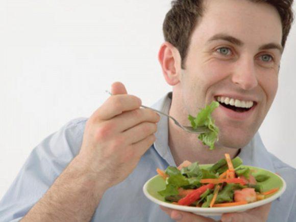 Здоровая диета способствует мужской плодовитости