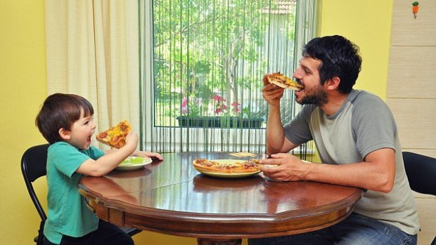 Питание отца оказывает серьезное влияние на здоровье будущего ребенка