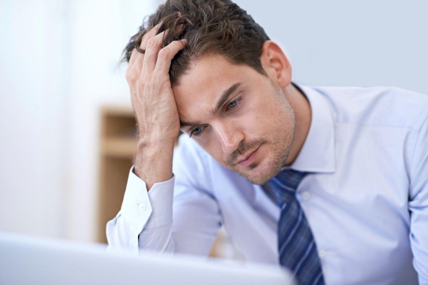 Импотенцию провоцирует стресс