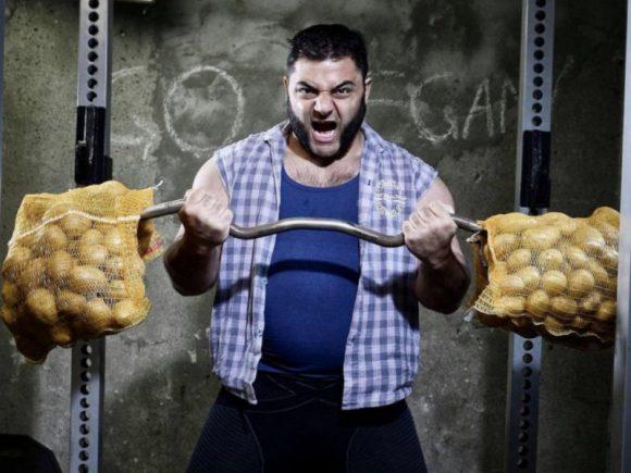 Вегетарианская диета идеально подходит для спортсменов