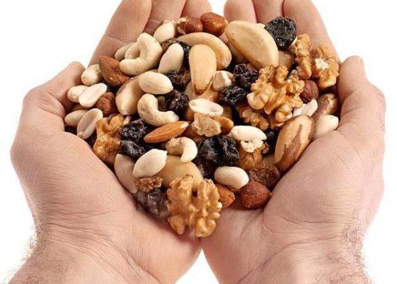 Орехи и мужская потенция