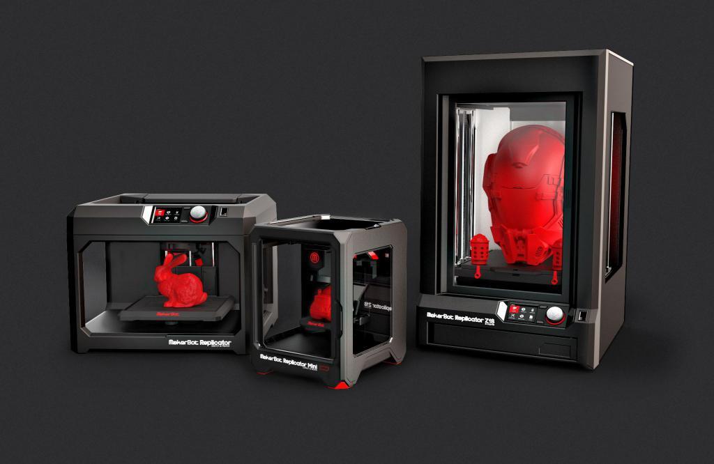 3D-репликатор использует свет для печати объемных объектов