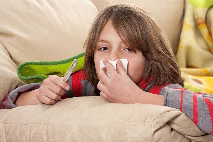 Осложнения гриппа у детей, – какие они?