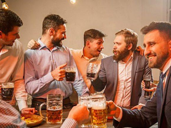 Ученые все-таки разрешили мужчинам алкоголь
