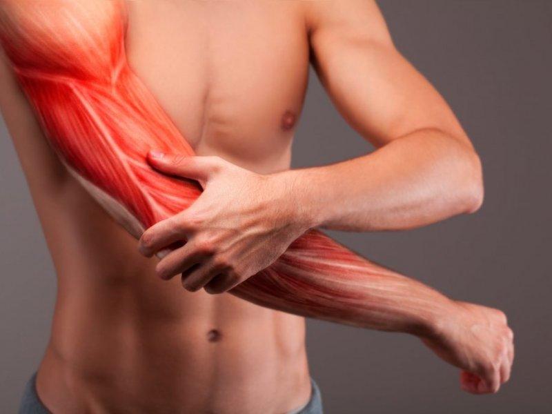 Боль в мышцах после тренировки: причины и лечение