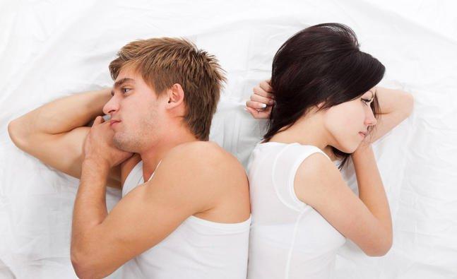 Секс вызывает у мужчин мигрени
