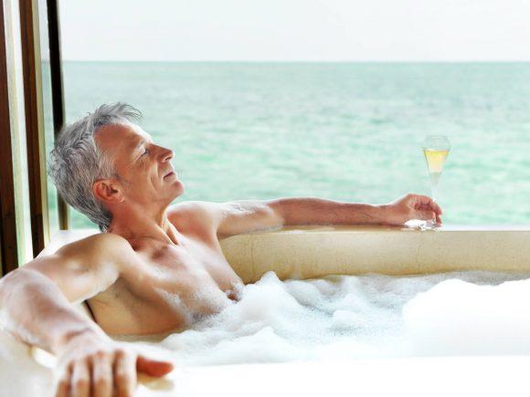 Водные процедуры и мужское здоровье